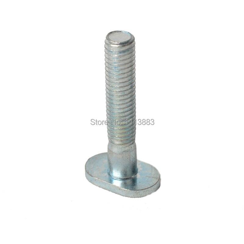 T vis + /écrou de bouton Pince /à rainure en T en m/étal pour loutil de travail du bois T-Slot T-Track