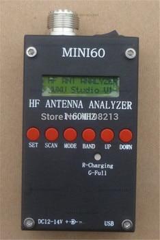 Mini Analizador de antena HF ANT SWR SARK100 para aficionados radioaficionados con batería li-on Versión bluetooth de 3,7 v
