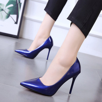 Pointed Toe Thin Heels High heels pumps women shoes 2019 new spring autumn wild Office Shallow Slip-On Sexy Casual ladies shoes aikelinyu 2019 classics wedding lady pumps sexy shallow party slip on thin high heels pumps pointed toe high quality women shoes