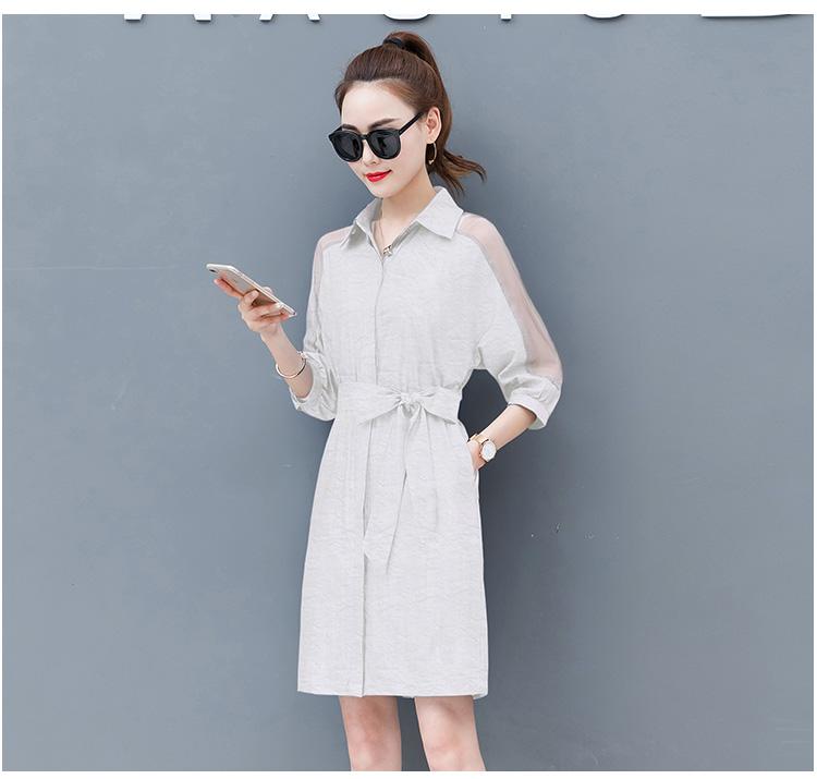 Dress female spring and autumn 2019 new fashion commuter slim strapless denim dress tide vestido Q280 20