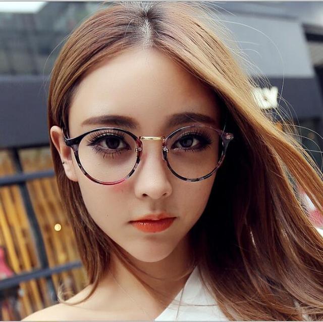 6478823161 L24 mode nouveau Style rond lunettes cadre Vintage lunettes femmes hommes  lunettes cadre optique cadre lunettes