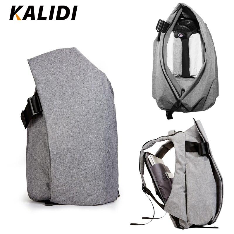 KALIDI étanche 15.6-17.3 pouces sacs à dos d'ordinateur portable hommes plus grande capacité sac à dos scolaire décontracté 15 pouces sacs de voyage étudiant Mochila