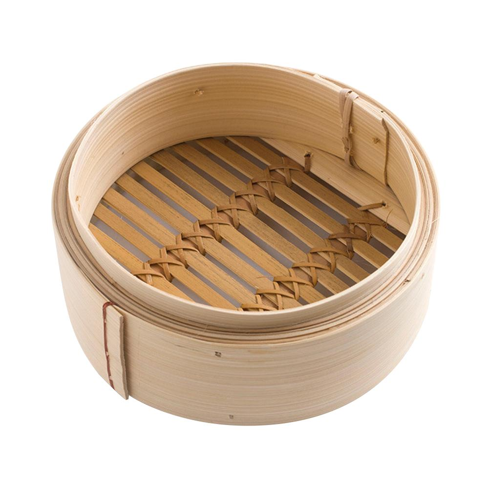 Cooking Bamboo Steamer Dumpling Steamer For Fish Rice Vegetable Snack Basket Set Kitchen Cooking Tools Dumpling Bamboo Steamer