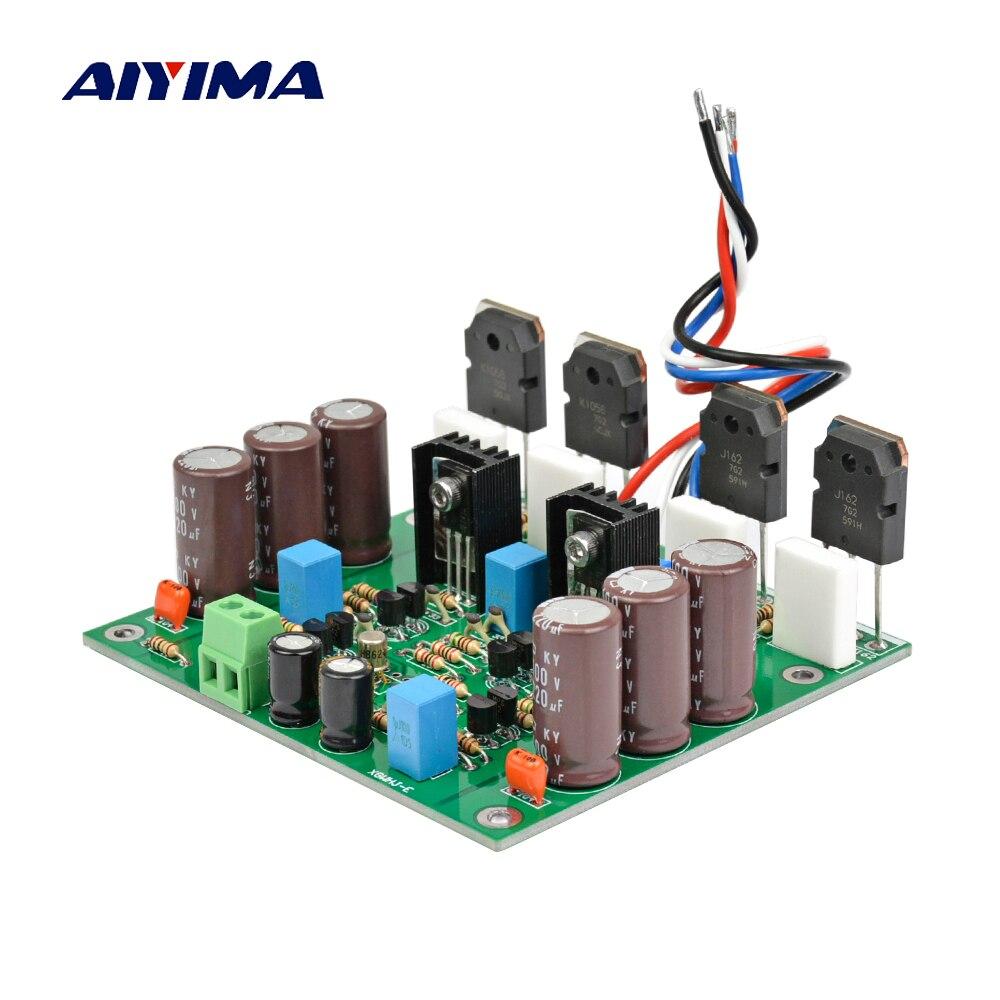 AIYIMA Power Amplifier Audio Board Mono Amplificador 150W K1058 J162 Sound Amplifier Goldmund Circuit