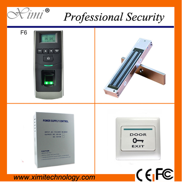 Standalone biometric access control with linux system 500 fingerprint users free software access control kit