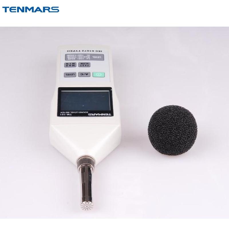 Tenmars TM-101 Sound Level Noise Meter Tester 30~130dB 2000 Readings tm 30