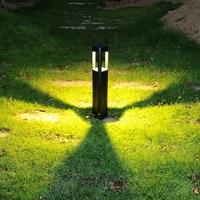 現代の Led 芝生ランプ COB LED 街路灯、屋外防水芝生ライトガーデンランプヴィラランプ柱ランプ中庭風景ライト