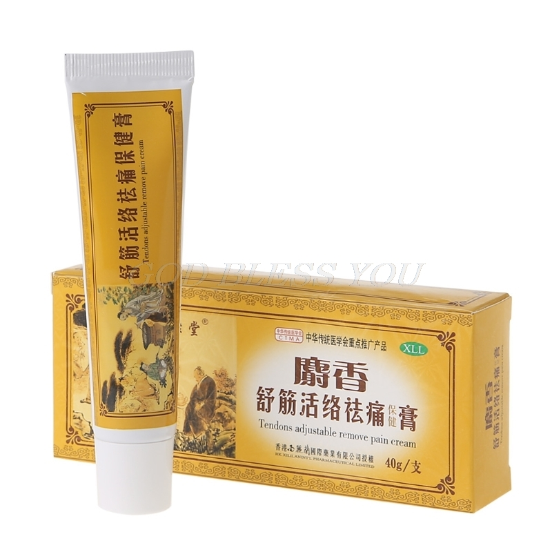 Chinese Musky Analgesic Cream 30g Suitable For Rheumatoid Arthritis/ Joint Pain/ Back Pain Relief Analgesic Balm Ointment