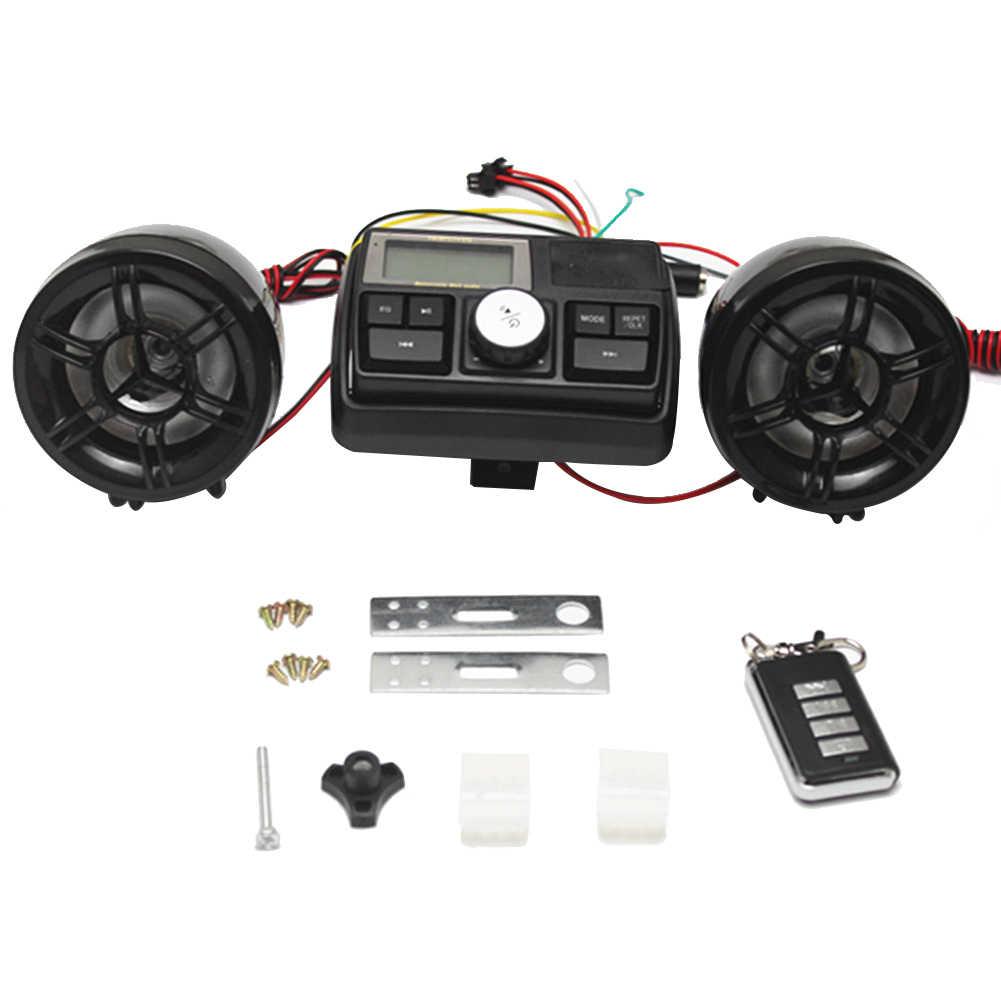 Vodool Anti Theft Motorcycle Alarm Sound System Motor Car Audio Mp3
