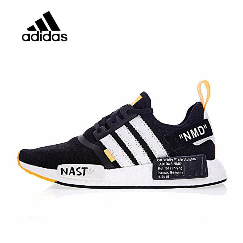 Original Nouvelle Arrivée Officiels Adidas R1 Boost x Off-Blanc Hommes de Respirant Chaussures de Course Sport Sneakers Bonne Qualité BA8860