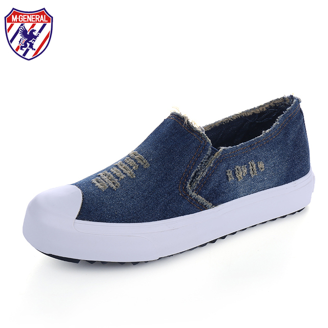 Denim M.general Chaussures Plates Occasionnels Pour Les Femmes Ve9DA3