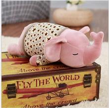 WYZHY down cotton elephant pillow plush toy sofa decoration to send friends and children gifts 70CM