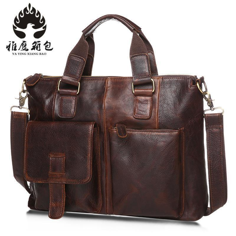 Genuine Leather Men Bags Male Cowhide Flap Bag Shoulder Crossbody Bags Handbags Messenger Small Men Leather Bag new style alligator genuine leather small messenger bags for men crossbody bag cowhide men single shoulder bag male handbags