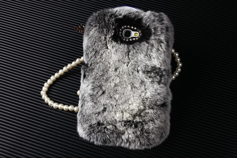 Real rex rabbit fur case iphone 5s 5c 5 4s 4 5g 4g covers mobile phone bags & cases Samsung galaxy note3 note4 note2 - Rainbow International Co.,Ltd store