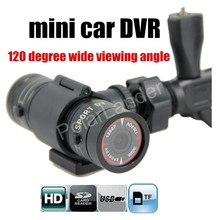 HD Camera Bike Camcorder video recorder 120 Degree Wide viewing angle MINI CAR DVR camera auto car accessory