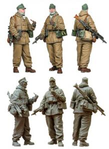 1/35 Resin Figure WWII German Soldier 1pc Model Kits