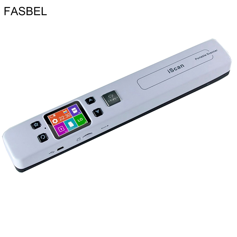 High Speed Portable Scanner A4 Size Document Scanner 1050DPI JPG/PDF Support 32G TF Card Mini Scanner Pen with Pre View PIcture skypix tsn470 a02 hd 1050dpi portable a4 document scanner jpg pdf file scanner with stand and free 8gb sd card