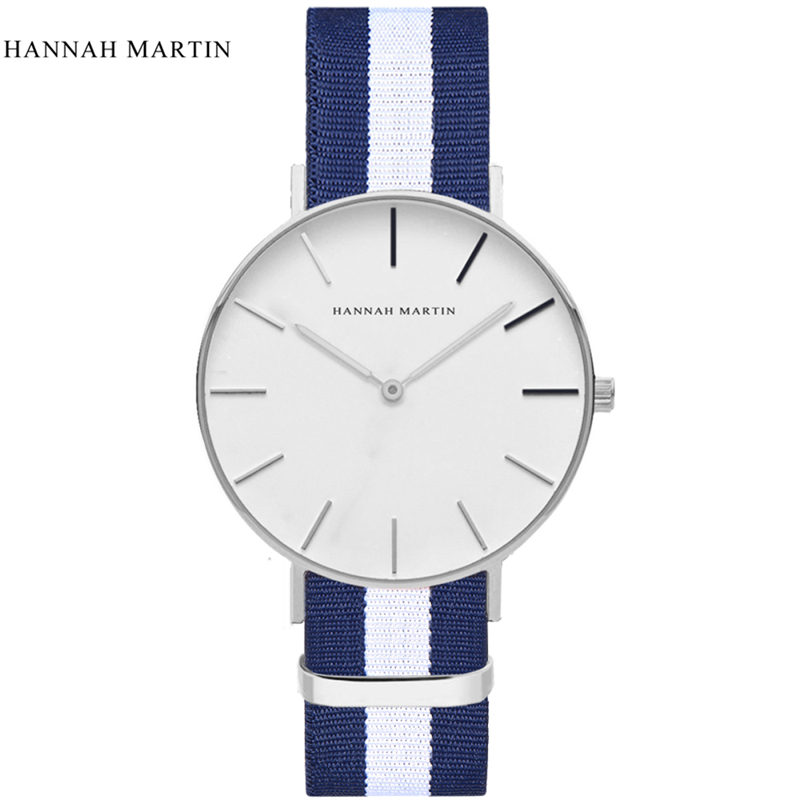 Casual Uhren Wasserdichte Wählen Mode Hannah Martin Ultra dünne Luxus Marke Einfache Minimalismus Design Männer Armbanduhr DW mujer