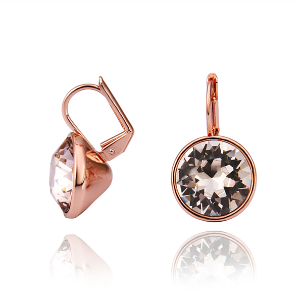 High Quality Wholesale Fashion Jewelry Rose Gold Color Top Grade