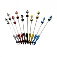 Quick Release Skewer QR Bicycle For Mountain Road Bike 105g Pair 5 Colors Aluminum Alloy