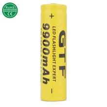 Battery para Lanterna Led de Reciclagem 1 Pcs 18650 Gtf DA Bateria 3.7 V 9900 Mah Recarregável Li-ion de Baterias Liion Celular