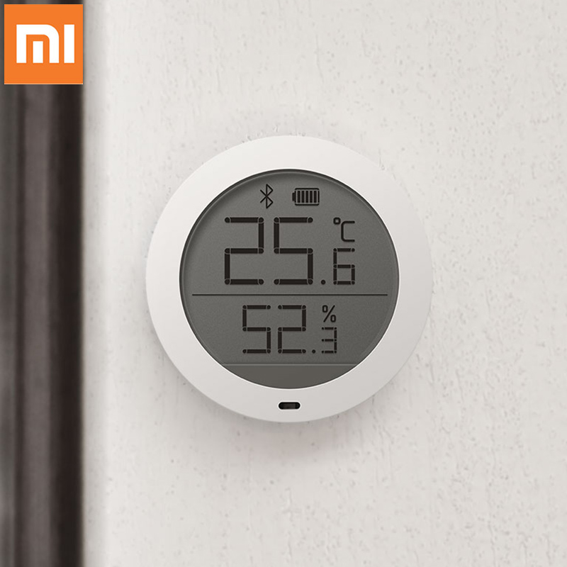Original Xiaomi Mijia Bluetooth Hygrothermograph High Sensitive Hygrometer Thermometer LCD ScreenTemperature Humidity Sensor