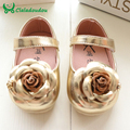 Baby girl shoes Moccasins Dress Princess Flower Newborn Baby Girl Shoes,Children Girls Soft Bottom First Walkers Insole 11-15CM
