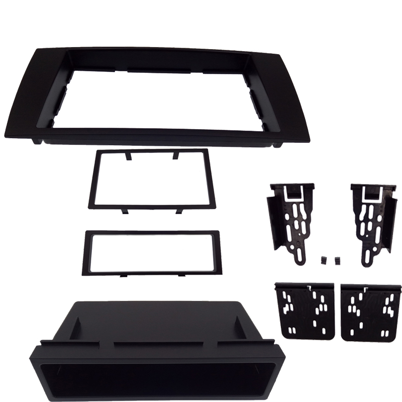 2DIN DVD autoradio Fascia adapté pour JAGUAR X type S type 2003-2008 panneau tableau de bord montage Kit garniture Fascia Face plaque cadre