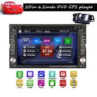 6 2 Inch In Dash GPS Navigation CAR DVD Player HD Car Radio 2DIN Car Stereo