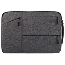 Kakay Portátil Bolsa de manga para chuwi lapbook ordenador portátil del aire 14.1 «Tablets PC nylon portátil bolso de los hombres de las mujeres
