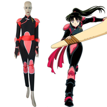 Anime InuYasha Cosplay Costume Sango  Combats Uniform Halloween Carnival Party Women Costumes
