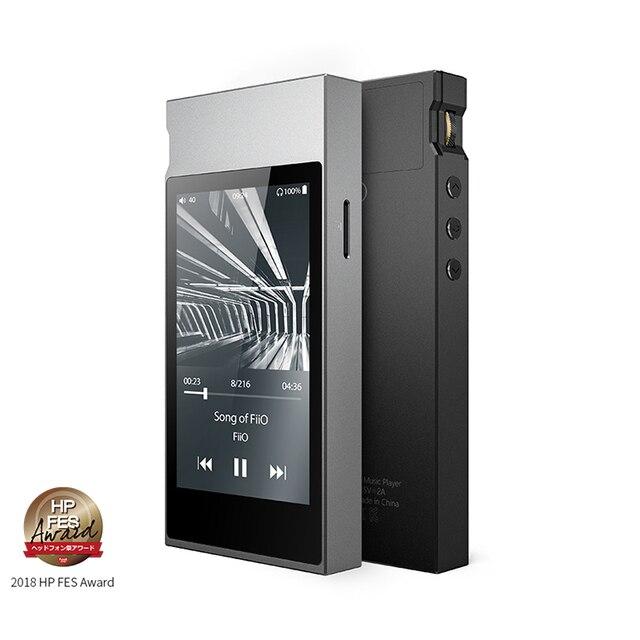 FiiO Metal Case M7 Bluetooth 4.2 aptX-HD LDAC Hi-Res Touch Screen LCD Mini Music MP3 play with FM Radio(Black/Red/Blue/Silver) 1