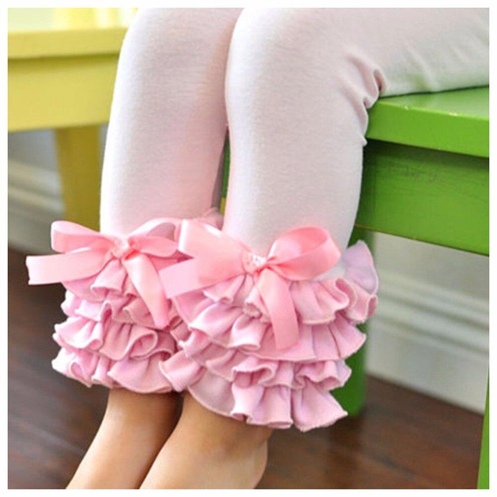 מכנסיים בנות חמודות בוטיק Infantil Feminina Roupa מכנסיים מזדמנים כותנה חותלות לפרוע שכבה