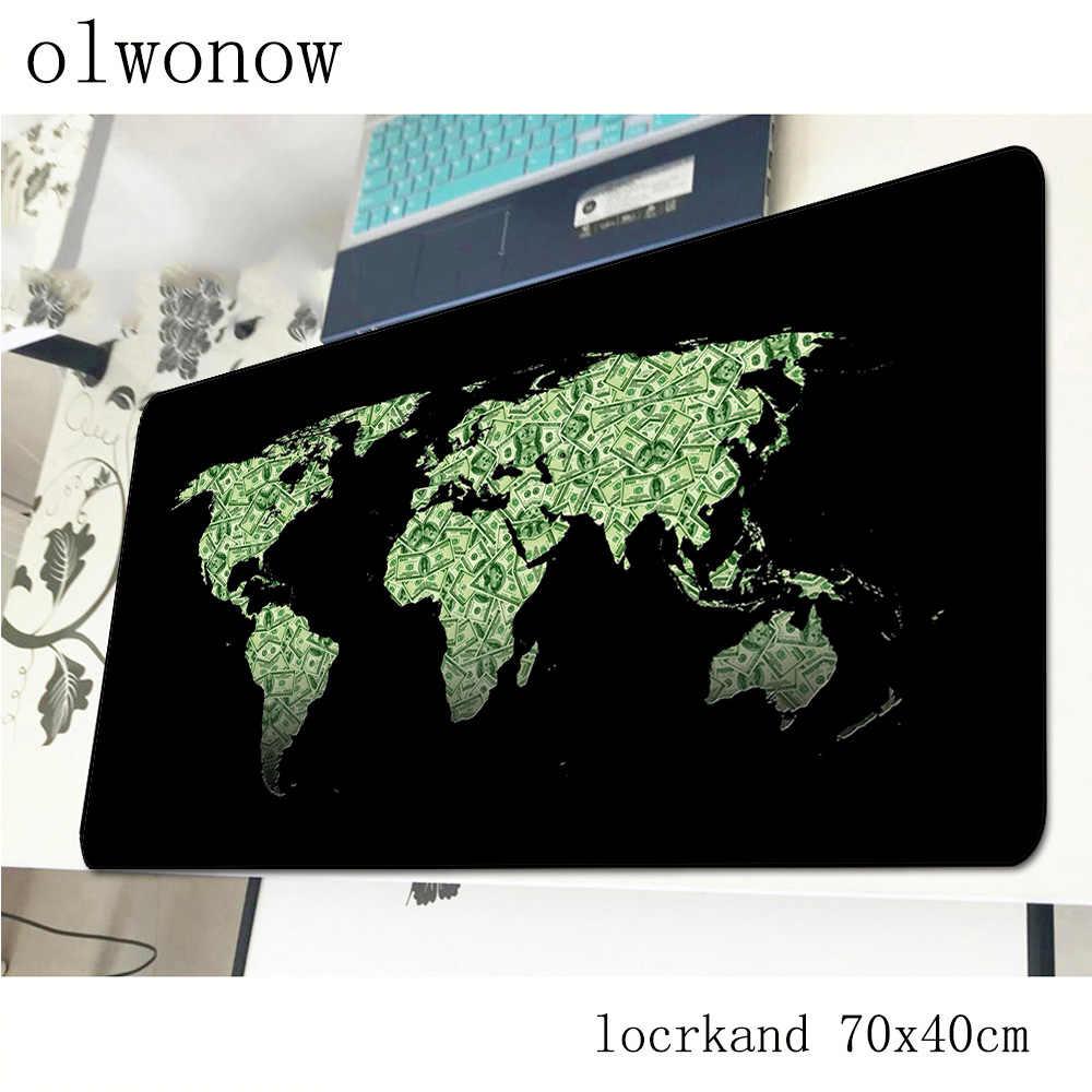 Carte du monde tapis de souris 700x400x3mm Indie Pop tapis de souris de jeu tapis de gamer jeu professionnel ordinateur de bureau padmouse clavier tapis de jeu