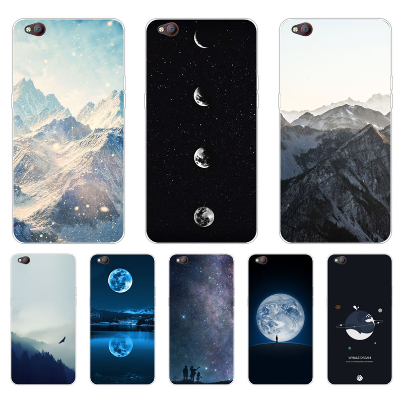 Zte nubia m2 lite Case,Silicon scenery Painting Soft TPU Back Cover for Zte nubia m2 lite Protect Phone cases shell