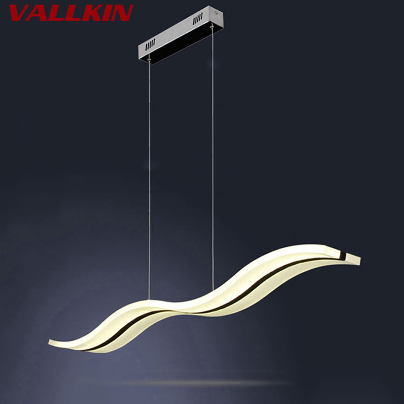 LED Pendant Light Fixture Milky Ceiling Lamp Shape With 38W Ac110 Or 220v For Dining Room