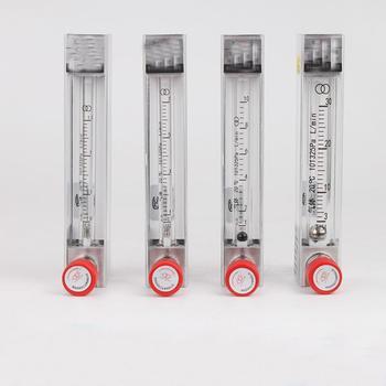 0.1-1L/min 1-10L/min 6-60 ml/min 10-100 ml/min 30-300 ml/min 60-600 ml/min Panel gazowy przepływomierz powietrza rotametr z zaworami regulacyjnymi