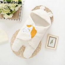 Newborn Baby Bath Robe Pajamas Cute Animal Cartoon Kids Blanket Hooded  Sleepers Toddler Comfortable Towel