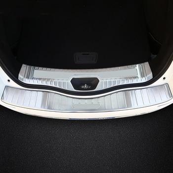 ルノーコレオス 2017 2nd 世代車のスタイリング車のアウターリアバンパースカッフ保護敷居カバー車のステッカー
