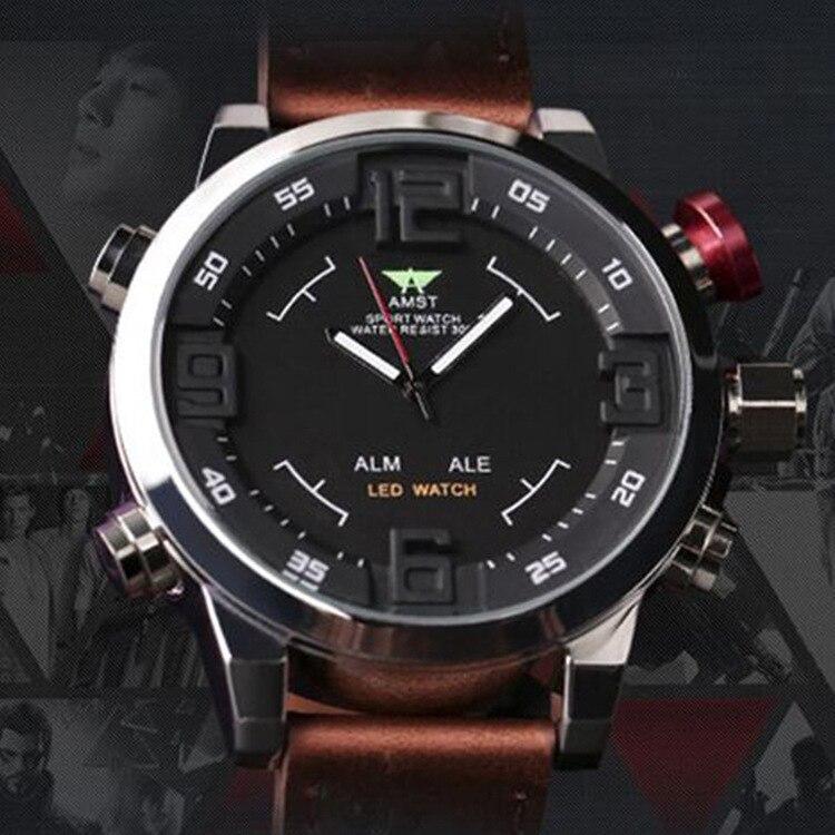 2019 vente directe Emmester loisirs mode multifonctionnel Quartz Core hommes montre militaire fabricant en gros Am3006