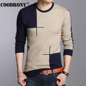 Image 3 - COODRONY 2020 Winter New Arrivals Thick Warm Sweaters O Neck Wool Sweater Men Brand Clothing Knitted Cashmere Pullover Men 66203