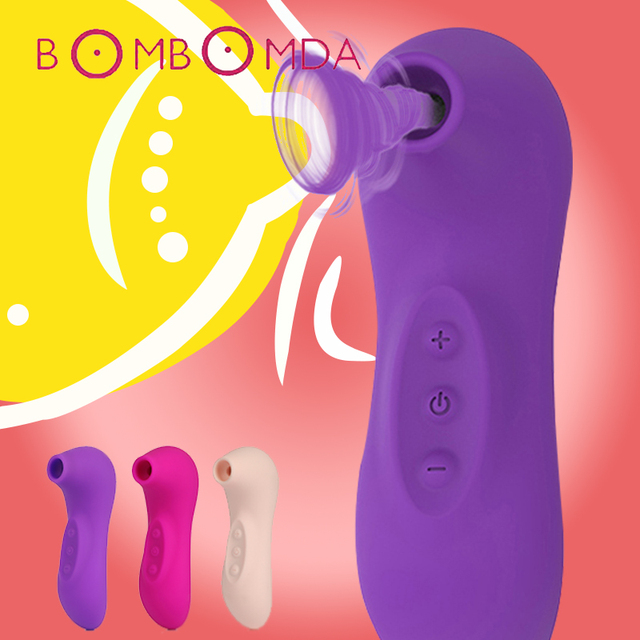 Clit Sucker Vibrator Sex Toys For Women Clitoris Stimulator Oral  Licking Nipple Sucking Blowjob Vibrator For Women Masturbator