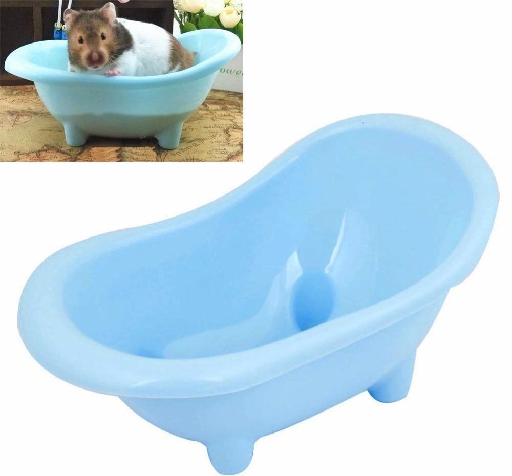 Saim Brand New Plastic Hamster Bathroom Bath Sand Room Small Animal ...