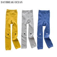 Big Mouth Smiling Face 3-8Y Baby Boys Girls Soft Cotton Leggings 2017 Fashion Casual Autumn Winter Kids Infant Children Leggings