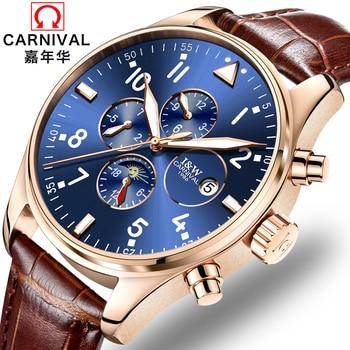 Мужские механические часы montre automatique homme horloge mannen horloges