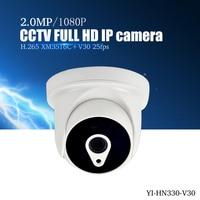 YiiSPO 1080P IP Camera FULL HD 2 0MP Indoor IR CUT Night Vision 3 6mm 3516C