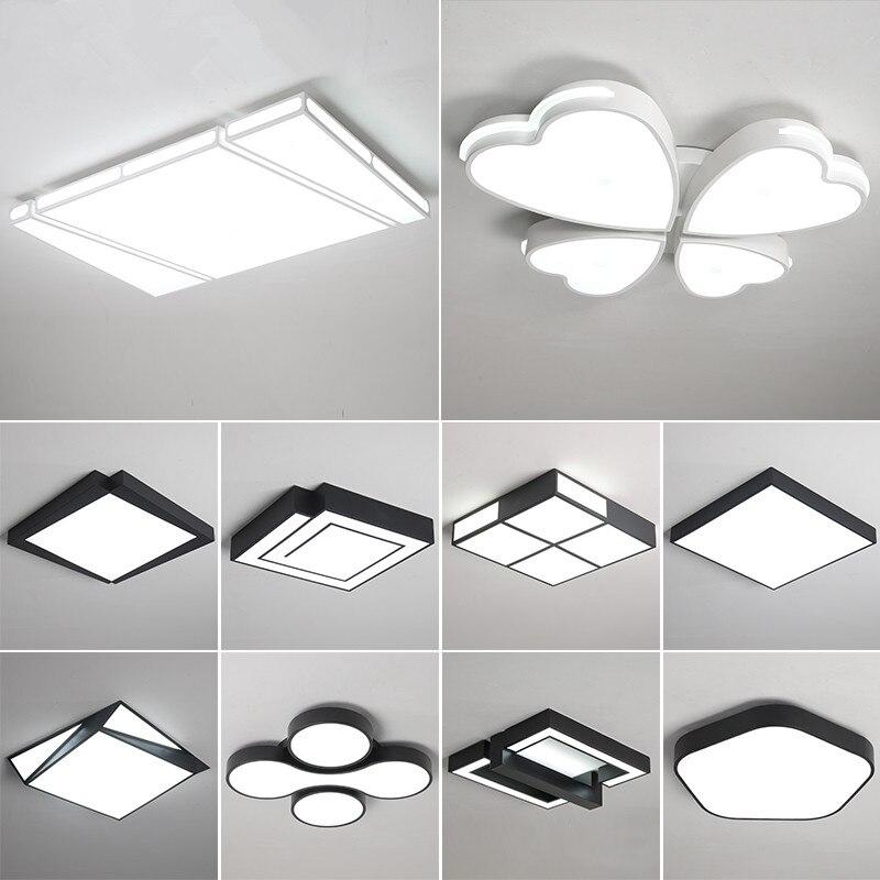 現代の Led シーリングライトリビングルーム照明器具器具寝室の天井ランプ子供ルームの照明ホーム天井照明