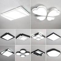 Moderno led luzes de teto sala estar luminárias quarto lâmpadas teto iluminação da sala crianças casa iluminação teto
