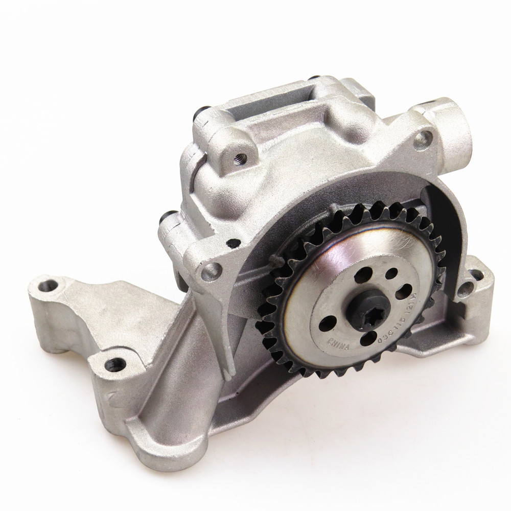 ZUCZUG Car Engine 1.4T Oil Pump New For VW Beetle Cabrio Passat CC Tiguan Jetta Golf CC Eos EA111 03C 115 105 M 03C 115 105 AD qty 2 auto for auxiliary cooling water pump fit vw jetta golf gti vw passat cc octavia 1 8 t 2 0 t 12 v engine 1k0 965 561 j