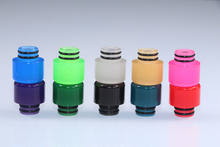 Cthulhu Hastur MTL RTA Drip Tip Narrow Bore 510 Mouthpiece Color Auto Change by Temperature(China)